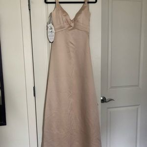Alfred Angelo Champagne Gown - Never Worn